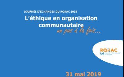 Journée d'échanges 2019