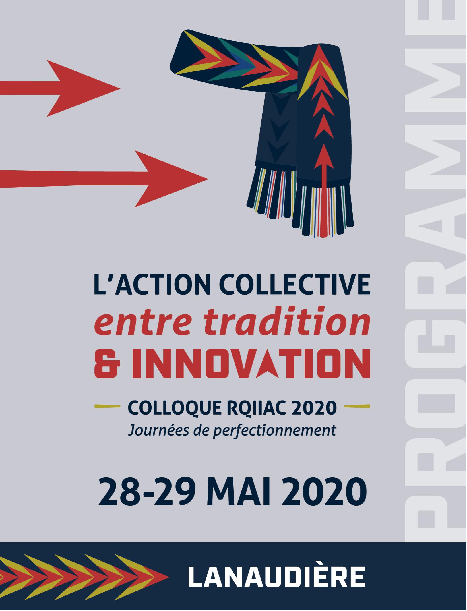 Ça y est ! Le programme du colloque 2020 est disponible !