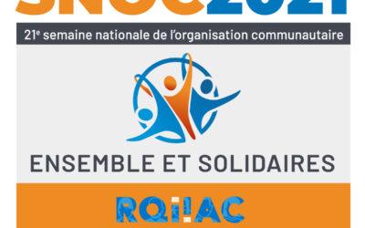 SNOC 2021 Ensemble et Solidaires